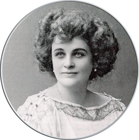 портрет Надежды Тэффи