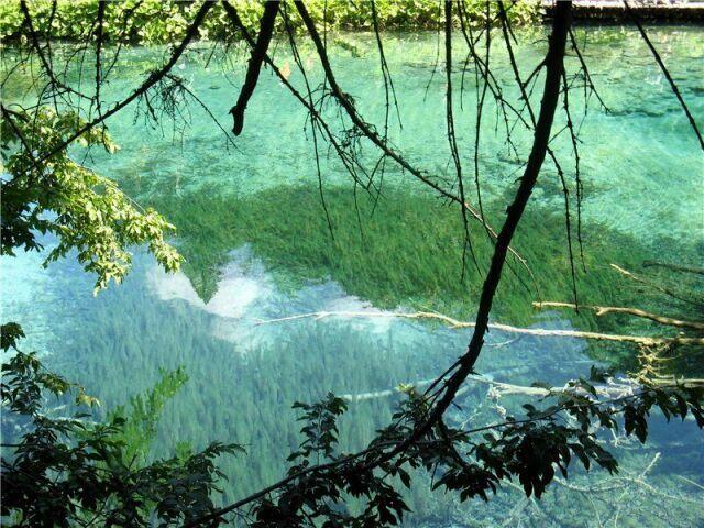 фото Плитвицких озер  Хорватии