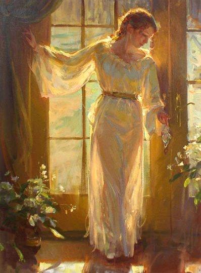Женские образы в живописи от Daniel F. Gerhartz