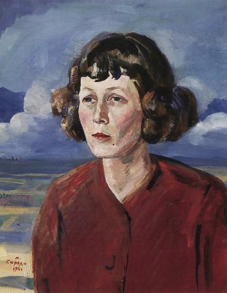 Мария Петровых портрет