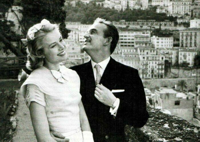 фото Грейс Келли с мужем