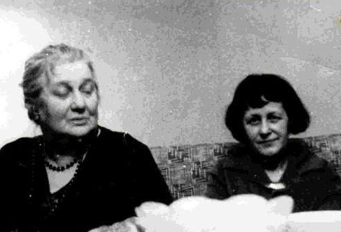 фото Марии Петровых и Анны Ахматовой