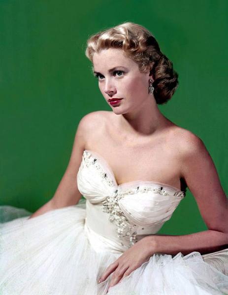свадебное платье Грейс Келли фото