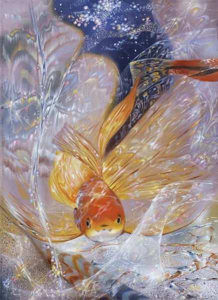 светящиеся картины А. Маранова