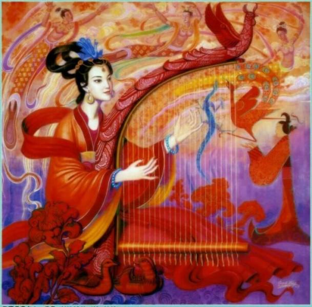 Китайская живопись Cunde Wang