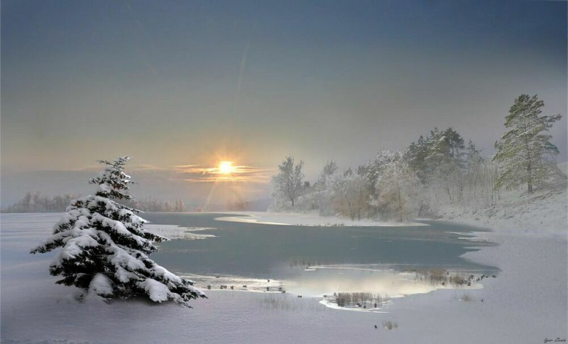 ослепительная снежность