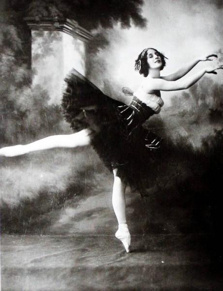 Балерина Анна Павлова на фото