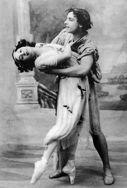 Балерина Анна Павлова