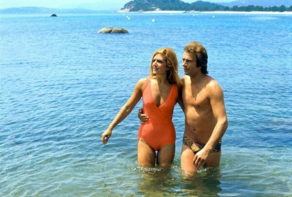 Dalida and Boyfriend in Porto-Vecchio