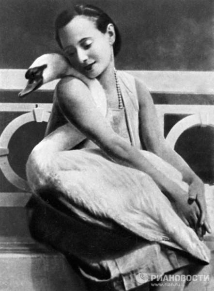 Анна Павлова балерина