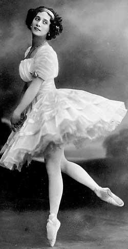 Балерина Анна Павлова фото
