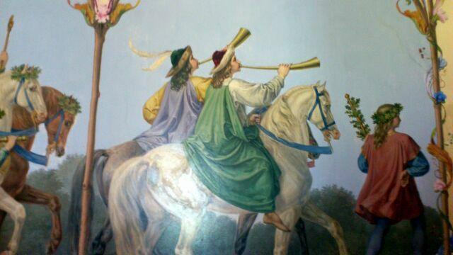 Картины замка  Хоэншвангау
