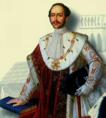 Баварский король Максимилиан - отец Людвига II