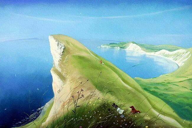 Summer Morning, Nicholas Hely Hutchinson