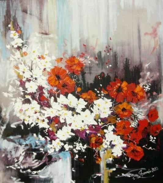Цветы в живописи от Яремкив