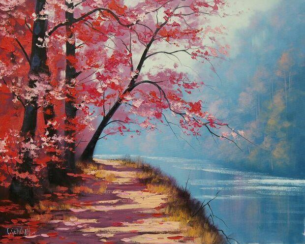Живопись Осенние пейзажи