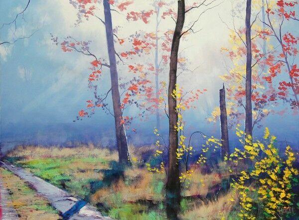Осенние пейзажи Graham Gercken в живописи