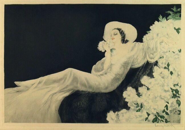Женские образы от Louis Icart ©