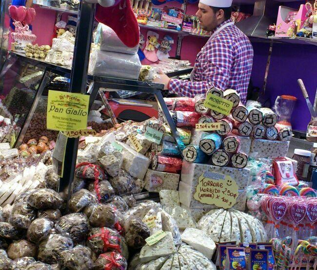 Рождественские сладости зимнего Рима