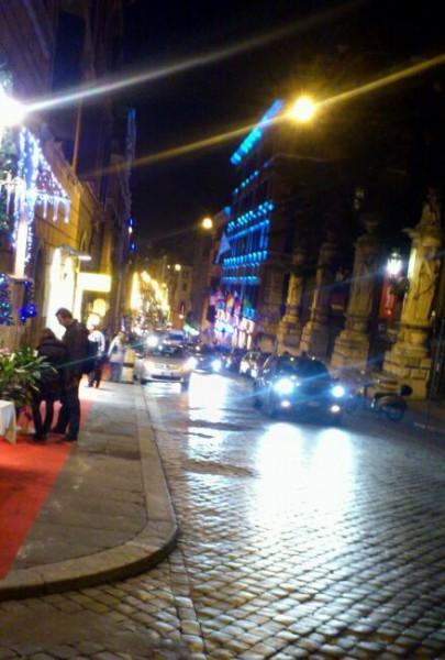 Ночной зимний Рим