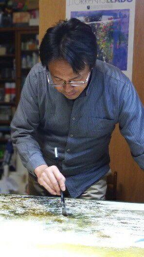 Абе Тошиюки - известный японский художник