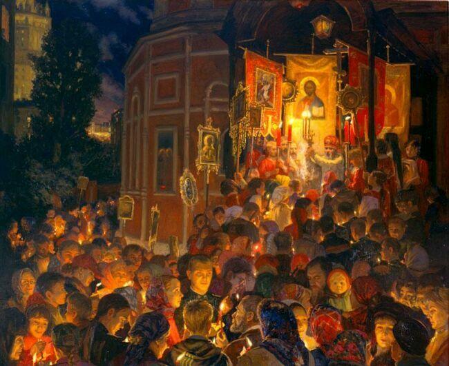 Картина на тему Пасха русских художников