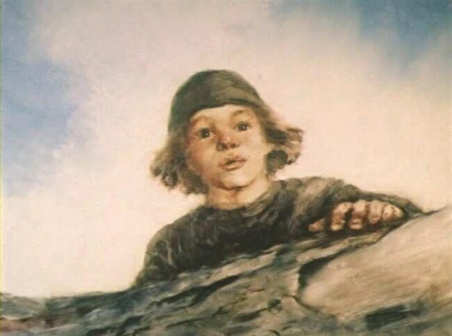 Александр Петров кадр из русалки