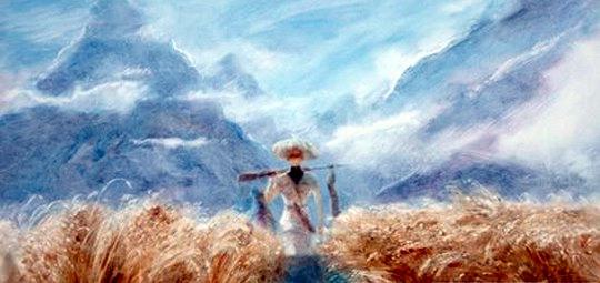 Ожившая живопись Александра Петрова