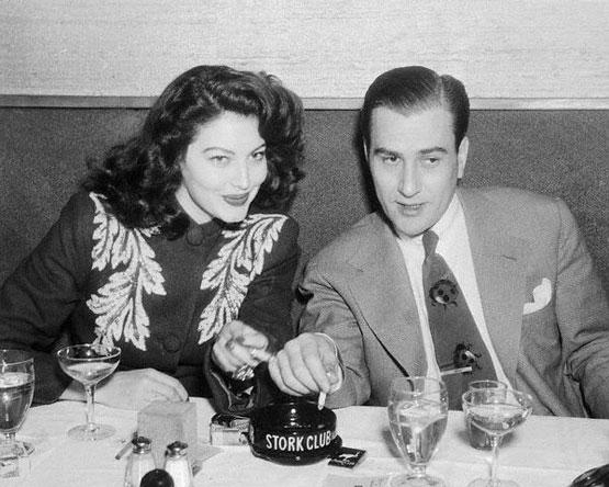 Fotos do segundo marido de Ava Gardner, Artie Shaw