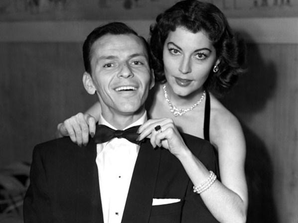 foto de Ava Gardner e Frank Sinatra