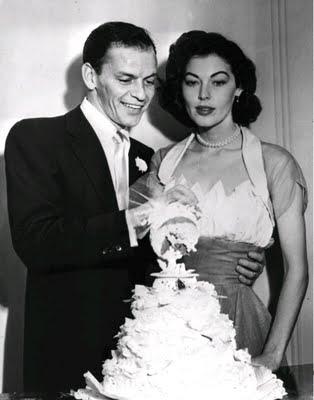 foto de Ava Gardner e seu segundo marido Frank Sinatra