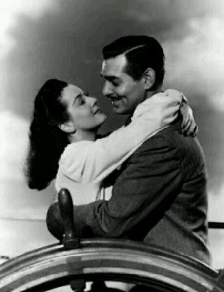 foto de Ava Gardner e Clark Gable