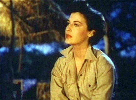 "atriz Ava Gardner em ""As Neves do Kilimanjaro"""