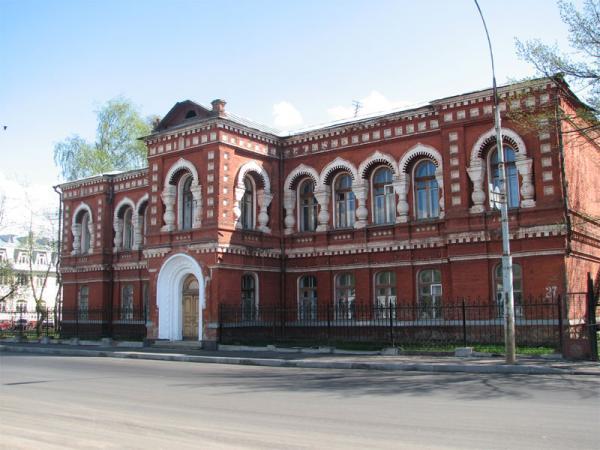 Фото училища, которое закончил Александр Петров
