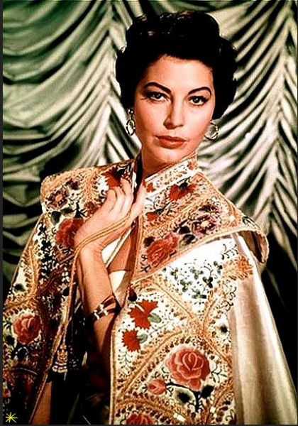 "Ava Gardner fotos do filme ""Barefoot Contessa"""