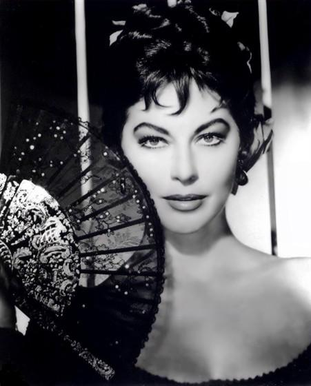 "Ava Gardner fotos do filme ""Naked Maha"""
