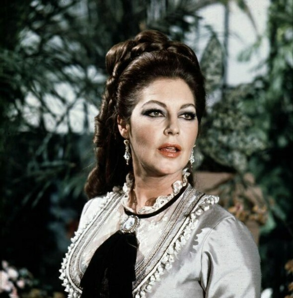 "Ava Gardner fotos do filme ""Mayerling"""