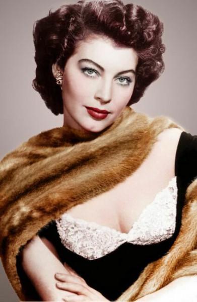 фото актрисы старого Голливуда Авы Гарднер