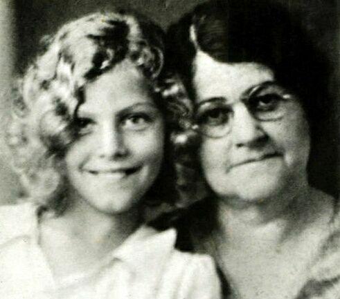 foto Ava Gardner e sua mãe