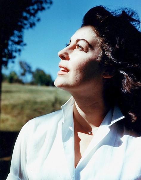 Ava Gardner foto na velhice