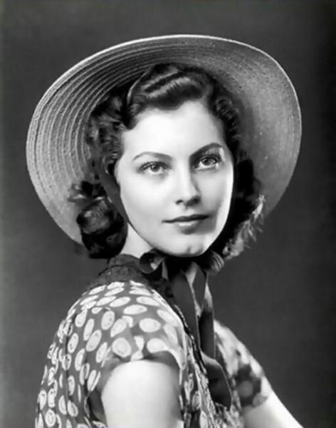 Ava Gardner em sua juventude
