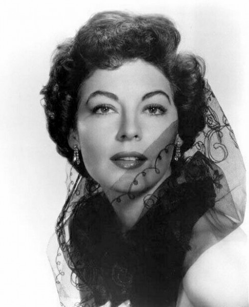 Fotos de Hollywood estrela de cinema Ava Gardner
