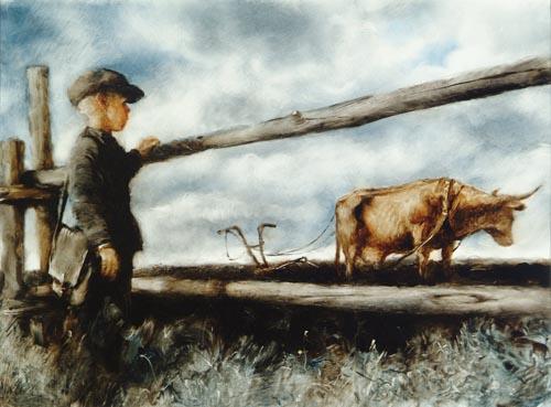 Александр Петров - из мультика корова