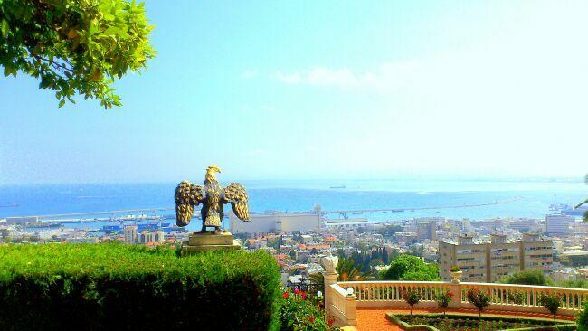 Хайфа Израиль фото сверху