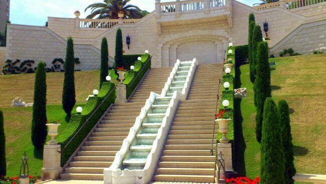 Хайфа и Бахайские сады
