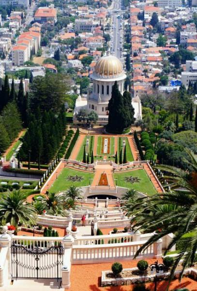 Фото Бахайских садов Израиля