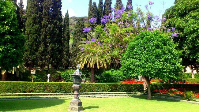 город Хайфа и Бахайские сады