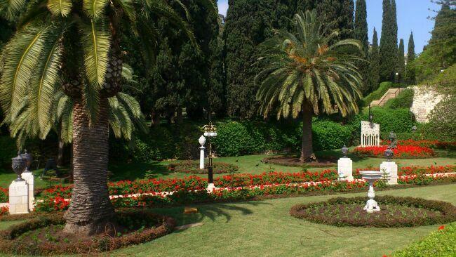 фото бахайских садов Хайфы Израиля
