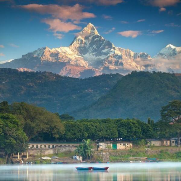 Покхара Непал фото