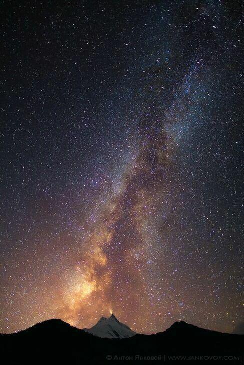 Ночь в Непале фото